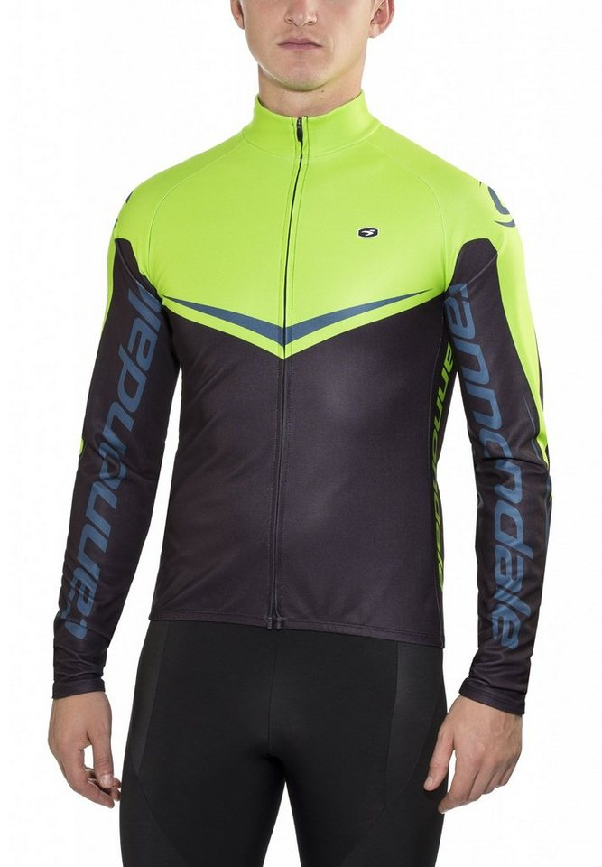 Cannondale Radtrikot »Evolution Pro L/S Jersey Men green« in schwarz