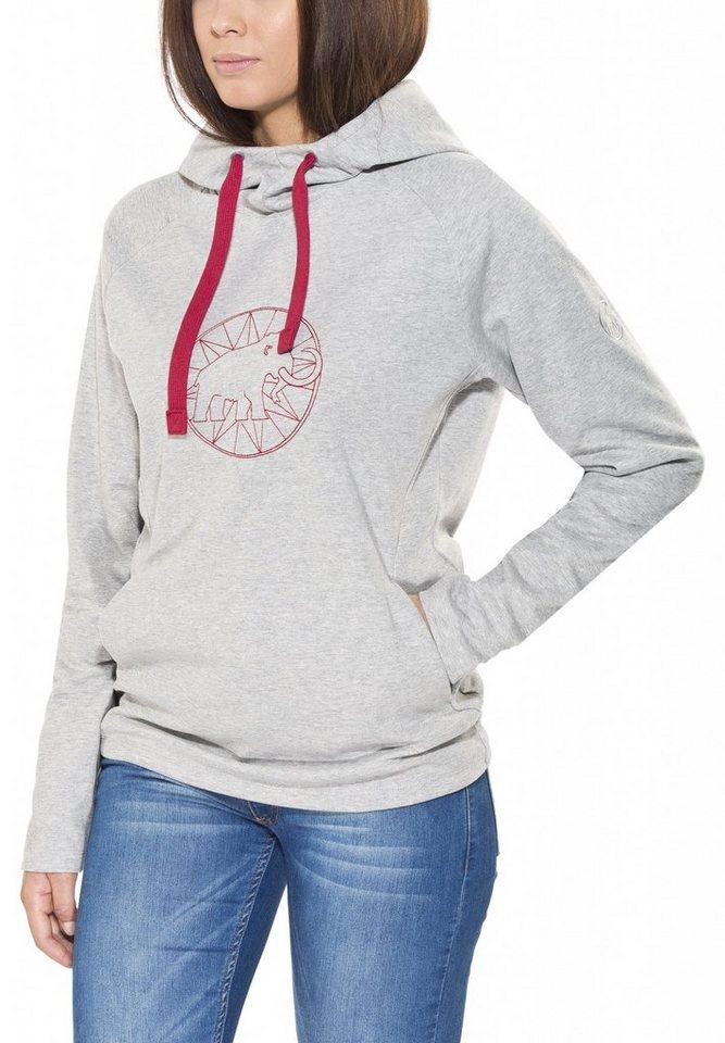 Mammut Pullover »Logo ML Hoody Women« in grau