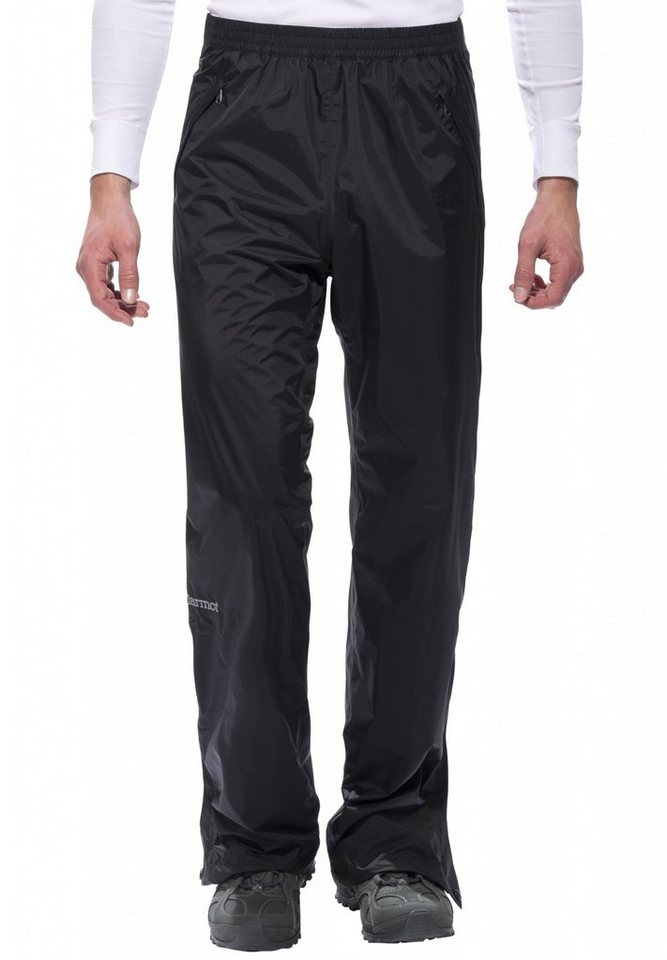 Marmot Outdoorhose »PreCip Full Zip Pant Long Men« in schwarz