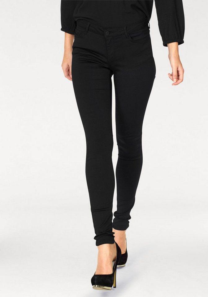 Noisy may Stretch-Jeans »LUCY« in schwarz