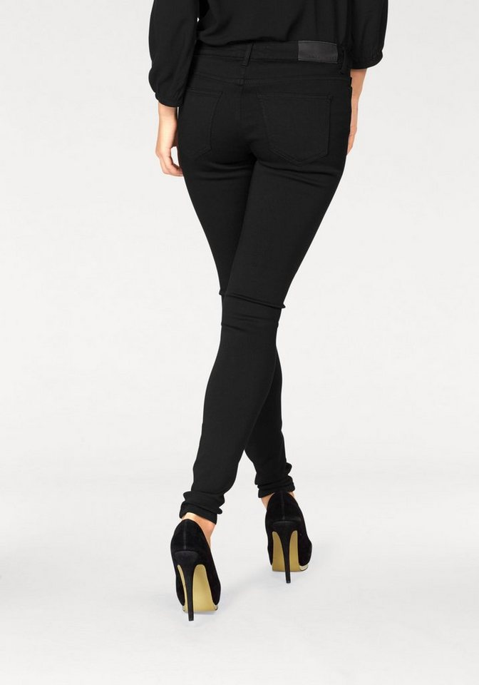 Noisy may Stretch-Jeans »LUCY« in schwarz