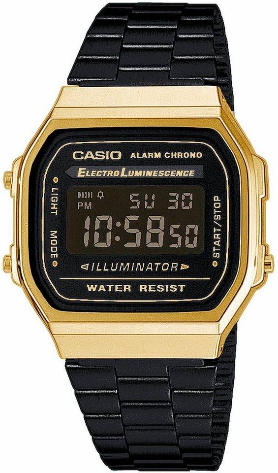 Casio Collection Chronograph »A168WEGB-1BEF« in schwarz