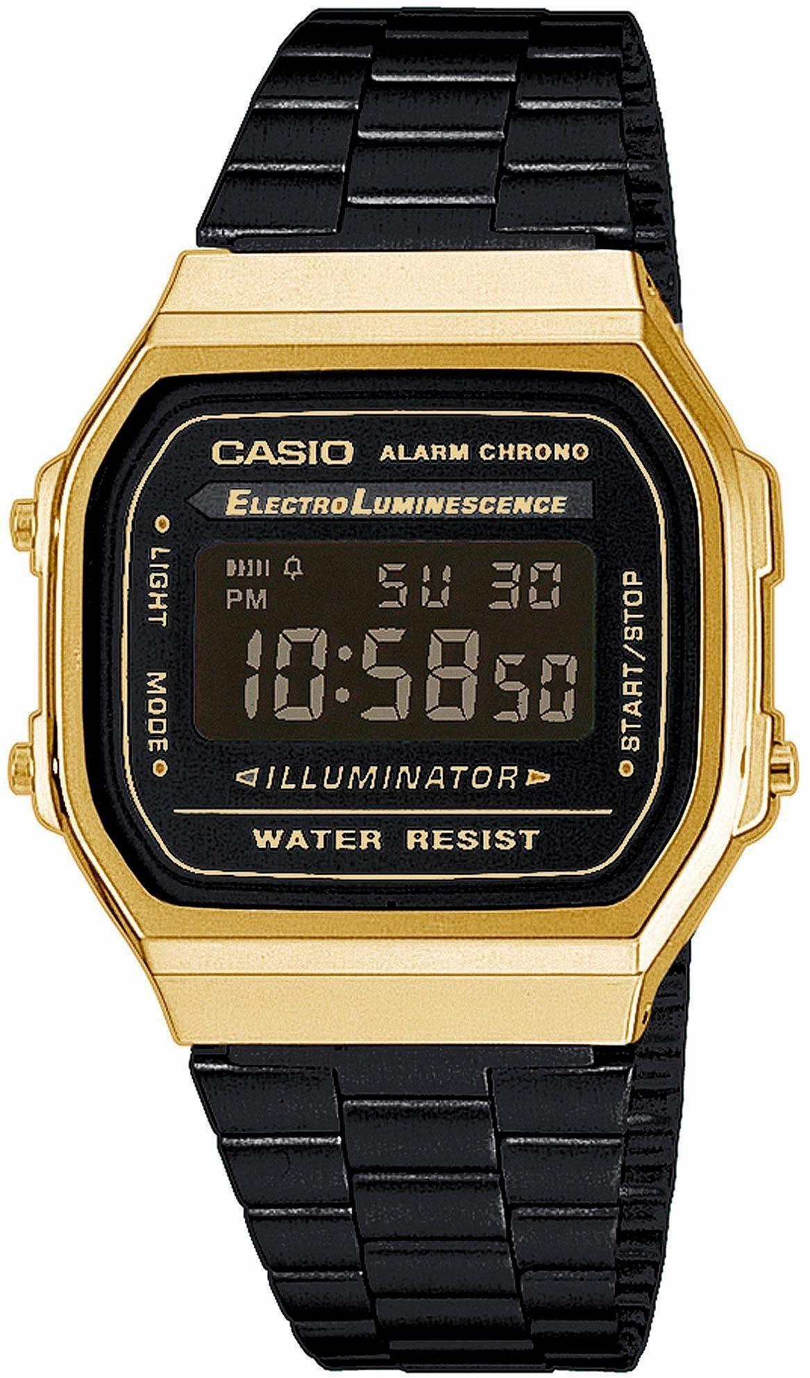 Casio Collection Chronograph »A168WEGB-1BEF«
