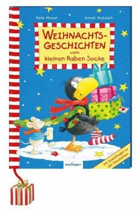Gebundenes Buch »Der kleine Rabe Socke: Weihnachtsgeschichten...«