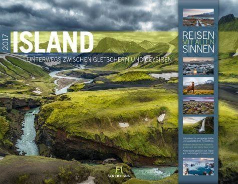 Kalender »Island 2017 - Reisen mit allen Sinnen«
