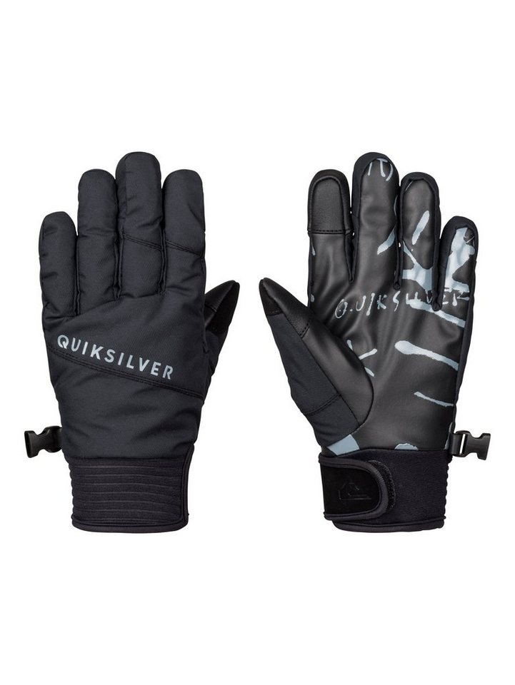 Quiksilver Pipe Handschuhe »Method« in Anthracite