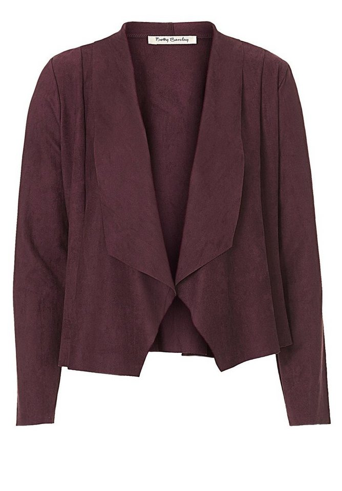 Betty Barclay Jacke in Dark Aubergine - Rot