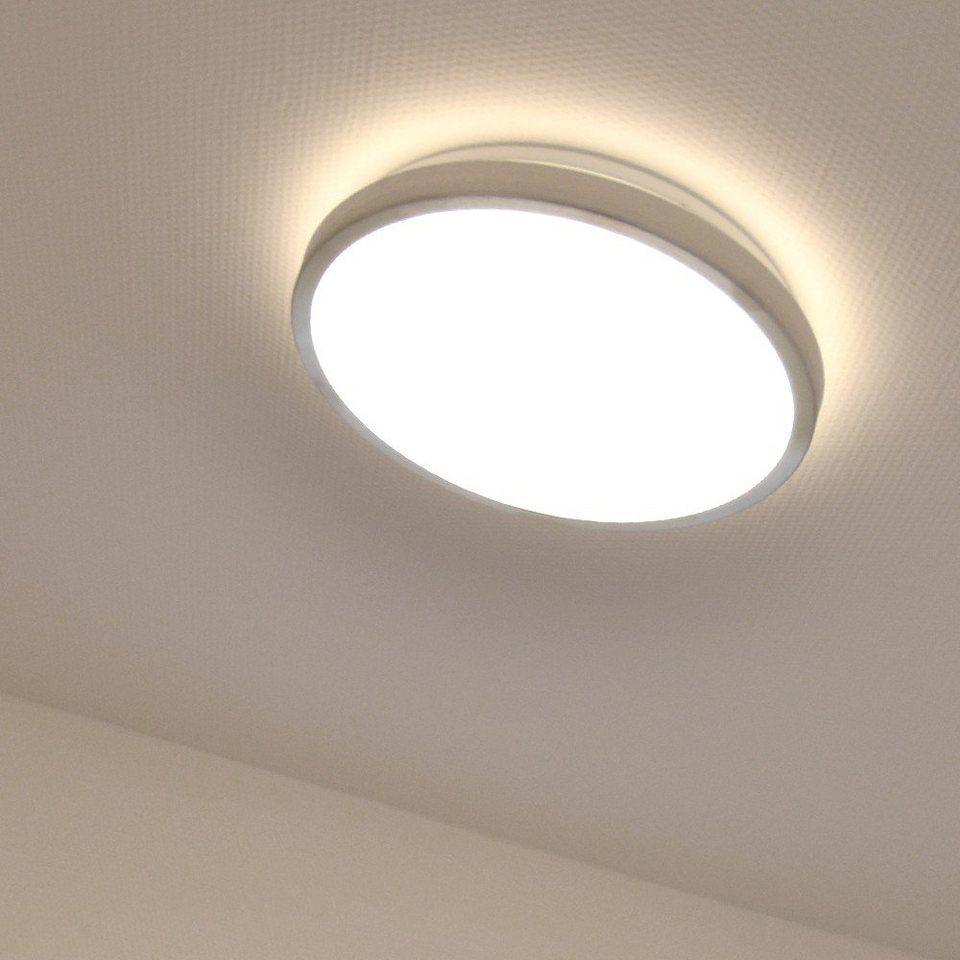 Licht-Trend Deckenlampe »LonaLED-Deckenleuchte Ø 30 cm« in Weiß