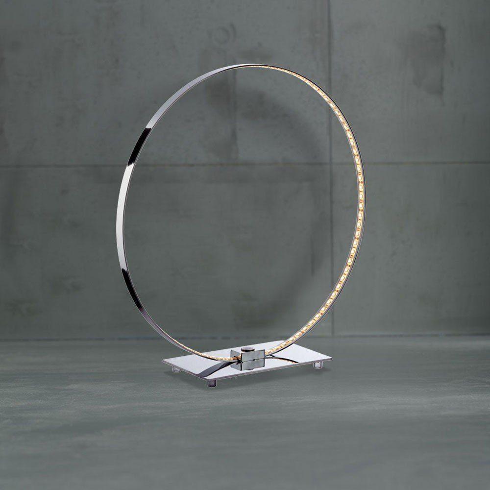 Licht-Trend Tischleuchte »Looping Lichtring mit Touch-Schalter«