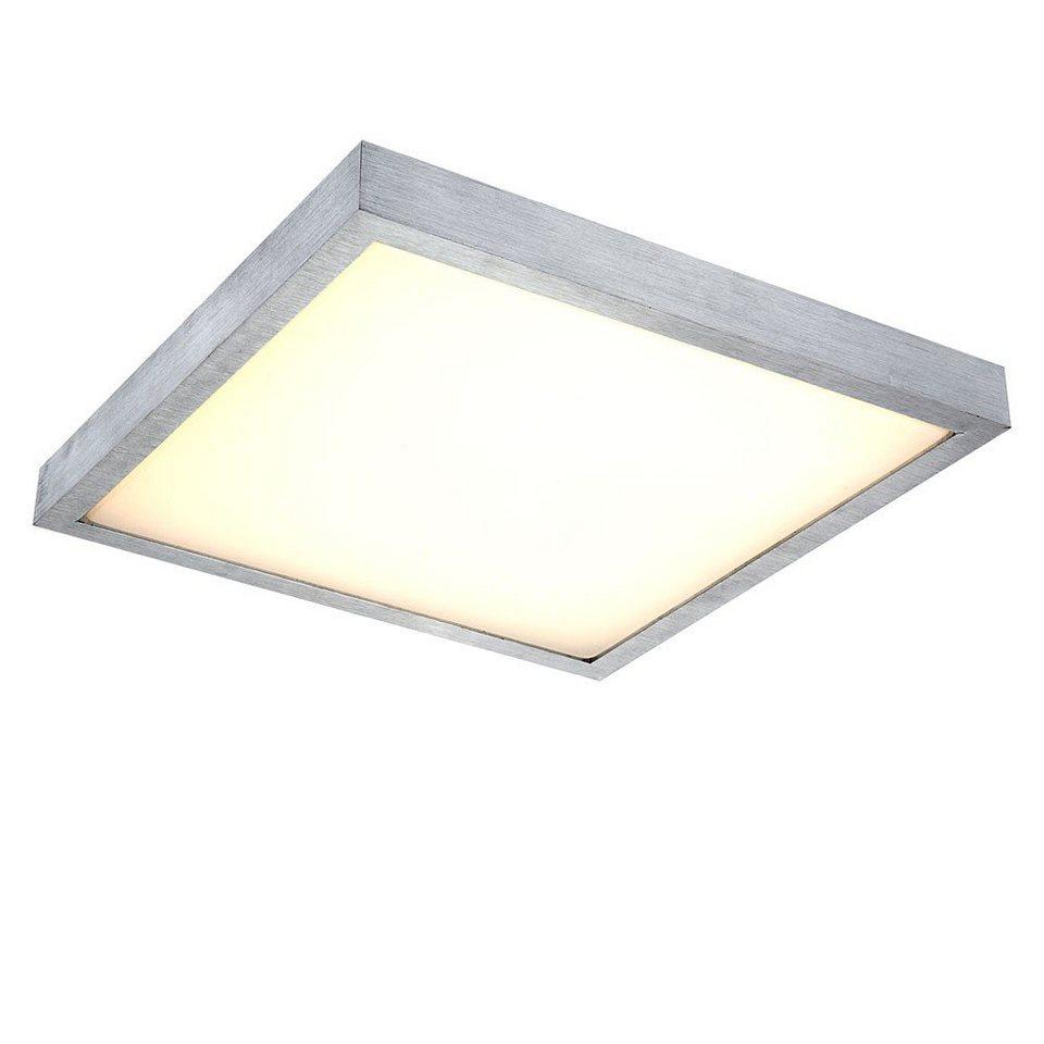 Licht-Trend Deckenleuchte »LED-Deckenleuchte in Alu-matt« in Silber