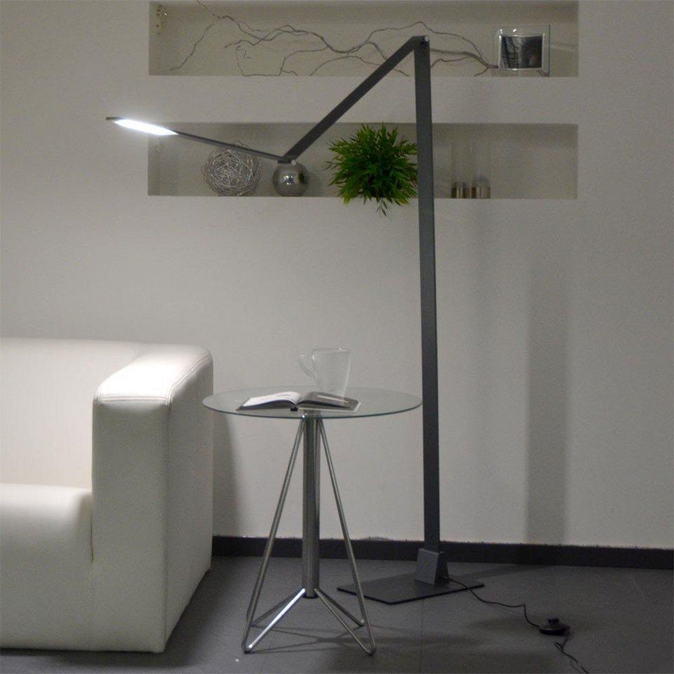 Licht-Trend Stehleuchte »Gigan LED-Stehleuchte in Anthrazit« in Schwarz