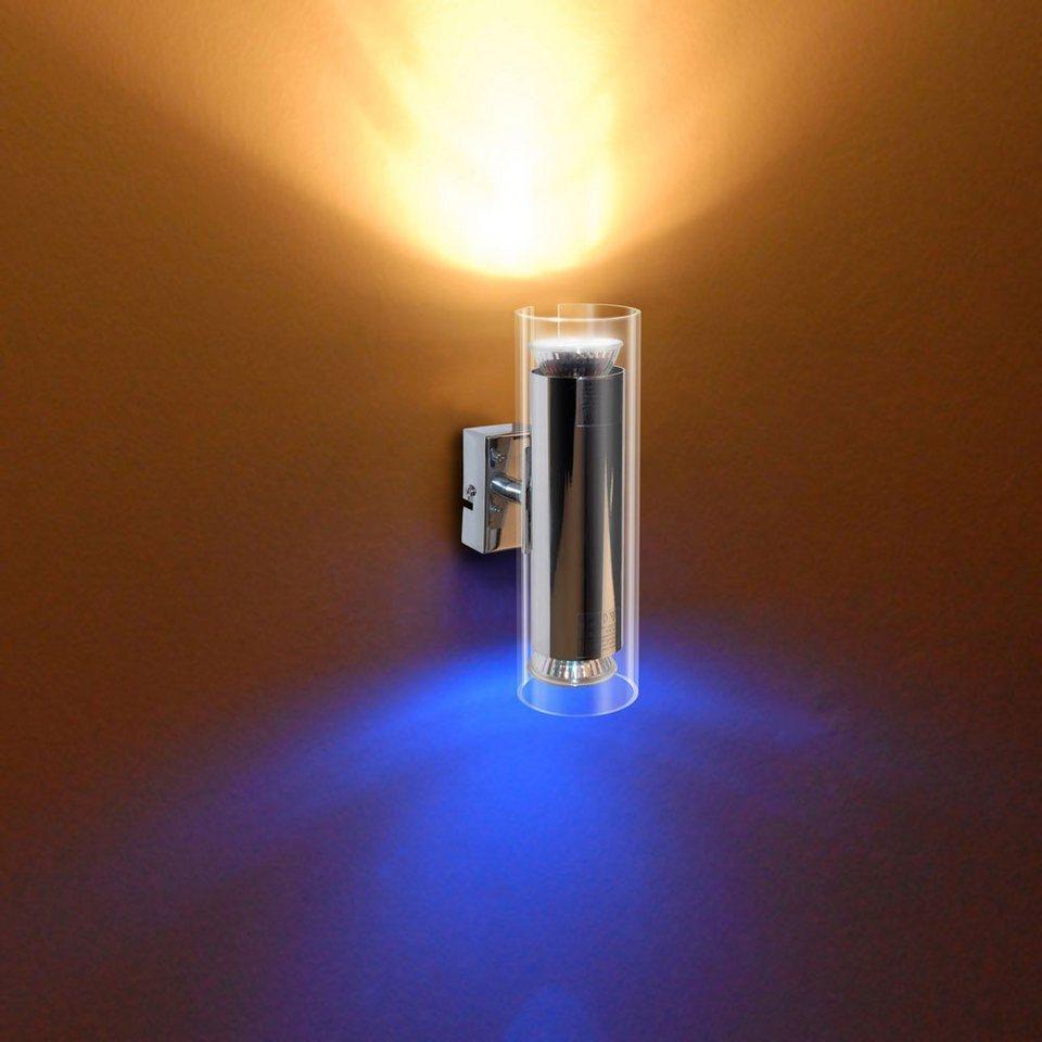 s.LUCE Wandlampe »Sento Up & Down« in Transparent