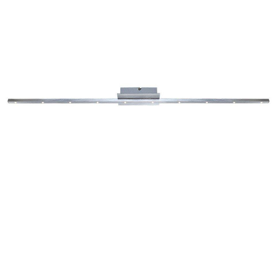 Licht-Trend Deckenleuchte »LED-Deckenleuchte in edler gebürsteter Oberfläche« in Silber