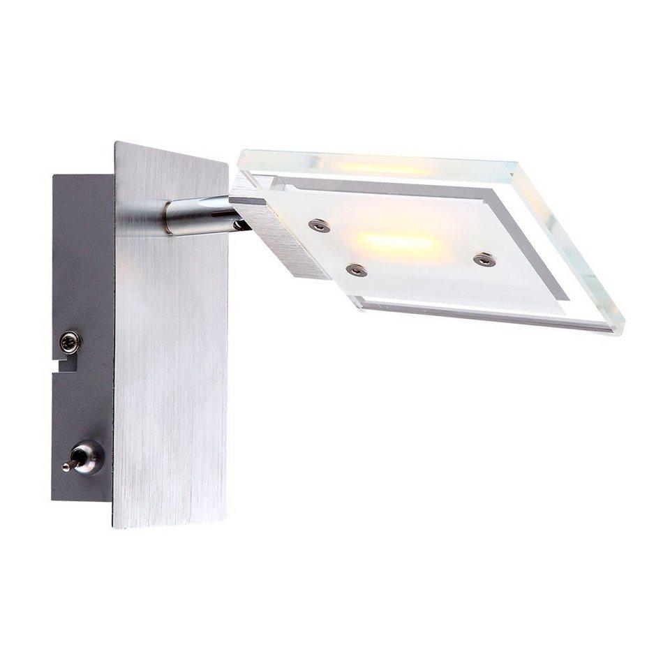 Licht-Trend Wandleuchte »Twist LED-Spot« in Silber