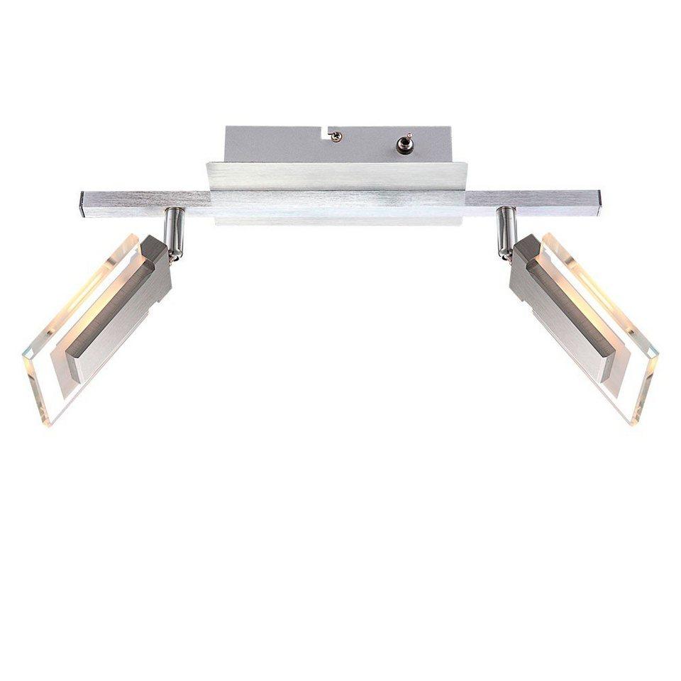 Licht-Trend Deckenleuchte »Tricky LED-Deckenleuchte 2er« in Silber