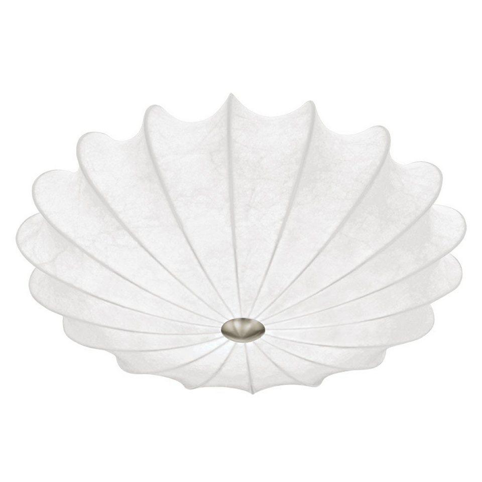 Licht-Trend Deckenleuchte »Kokon-Gewebe-Deckenleuchte« in Silber