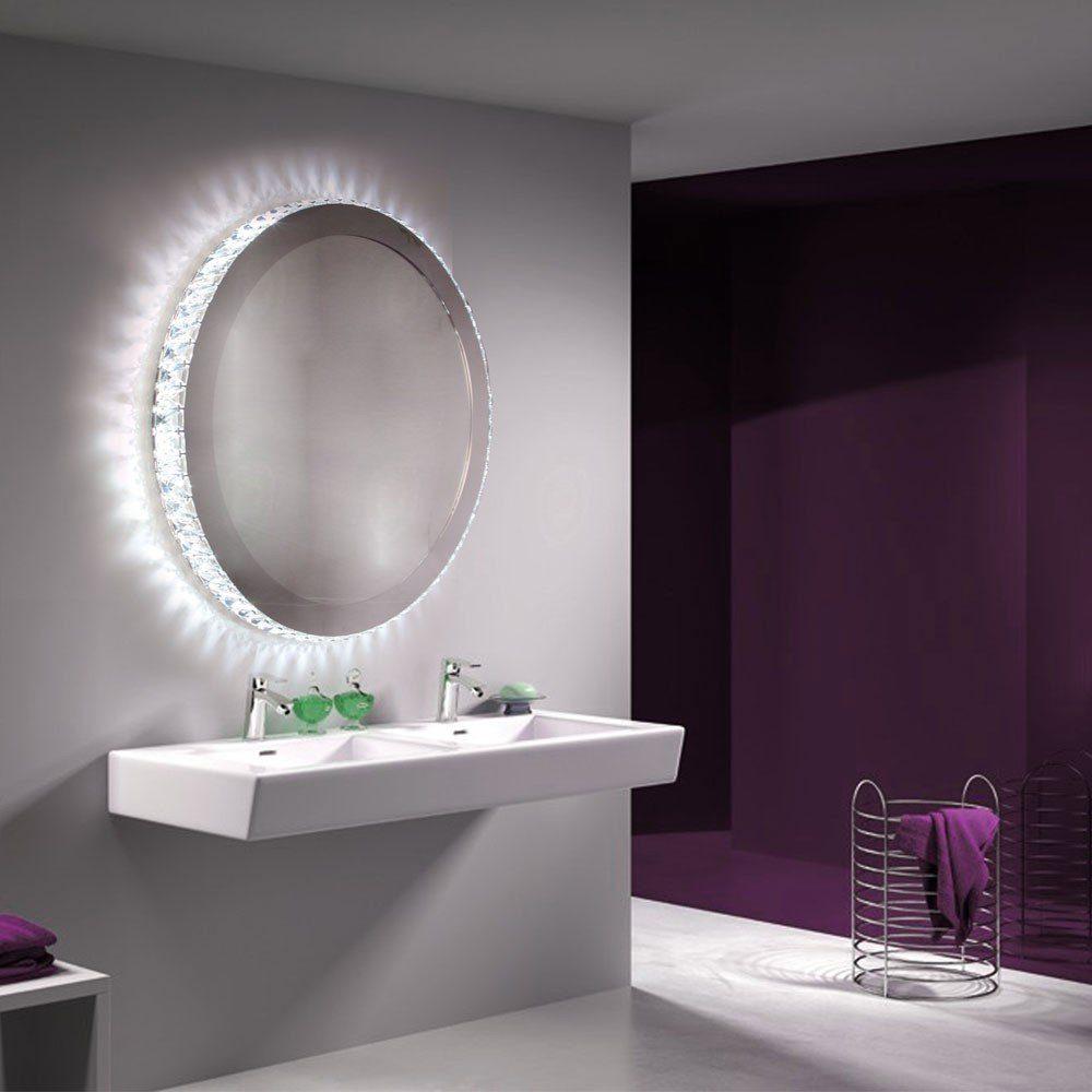 Licht-Trend Wandleuchte »Christallo LED-Spiegel mit geschliffenen«