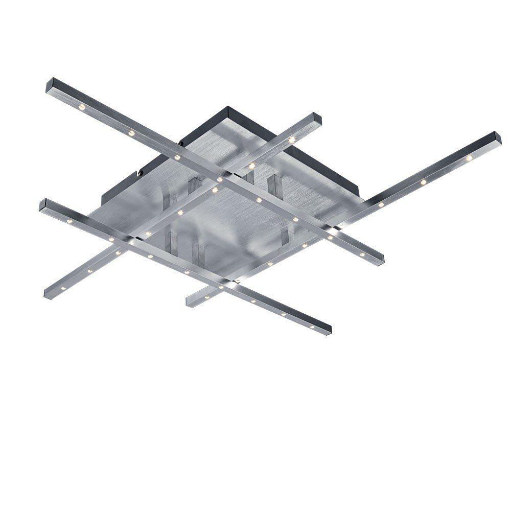 Licht-Trend Deckenleuchte »LED-Deckenleuchte mit edler gebürsteter Oberfläche«