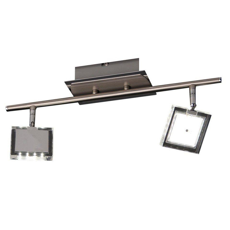 Licht-Trend Deckenleuchte »LED-Deckenleuchte Zweier-Balken« in Silber