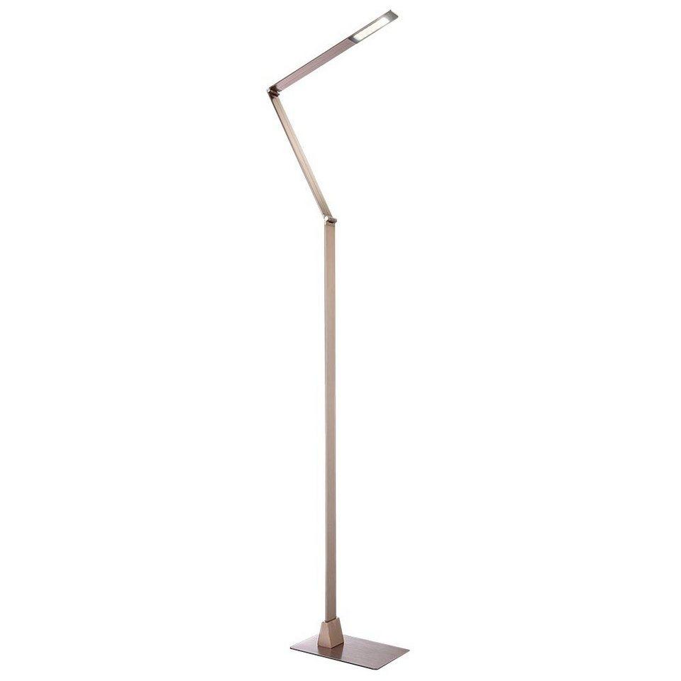 Licht-Trend Stehleuchte »Gigan LED-Stehleuchte in Kupfer« in Braun