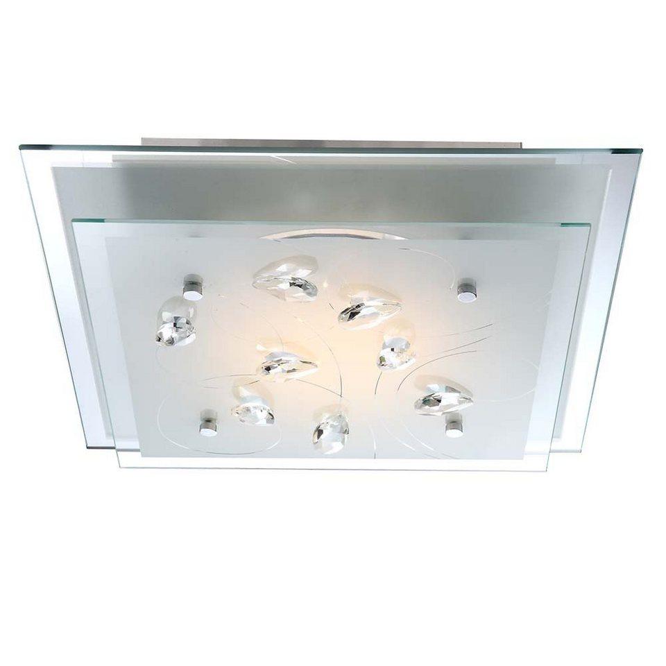 Licht-Trend Deckenleuchte »Aquila LED-Deckenleuchte Metall in Chrom« in Silber