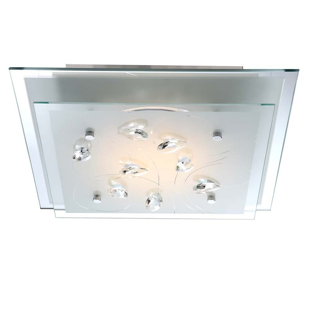 Licht-Trend Deckenleuchte »Aquila LED-Deckenleuchte Metall in Chrom«