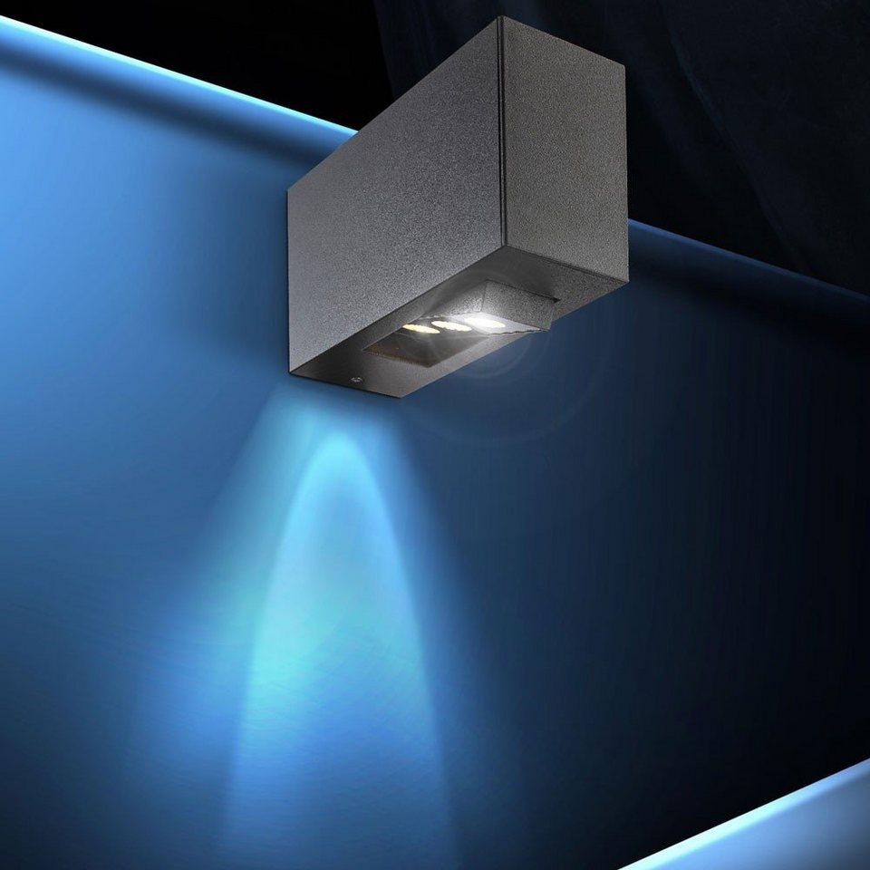 Licht-Trend Wandleuchte »LED-Wandleuchte für den Innen- und Außenbereich« in Schwarz