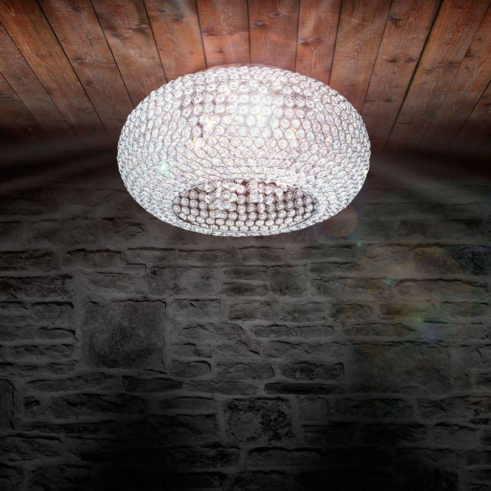 Licht-Trend Deckenleuchte »Mogul Kristall-Deckenleuchte mit hochwertigen« in Transparent