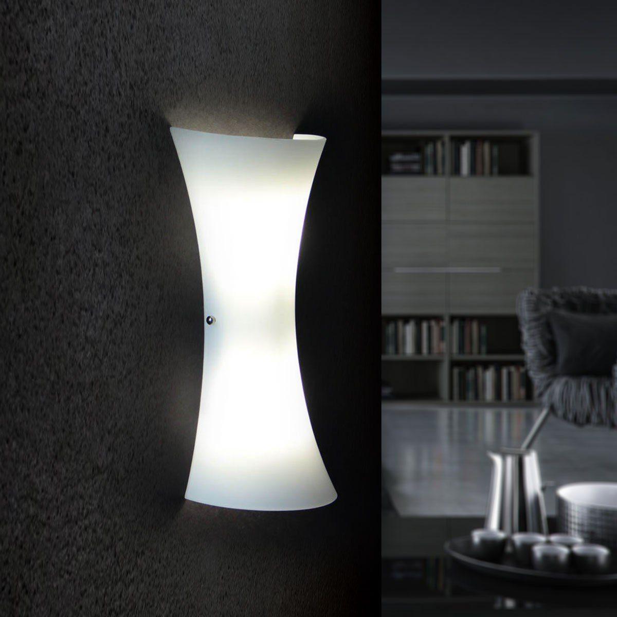 Licht-Trend Wandleuchte »Aira Glas- in Opalweiss«