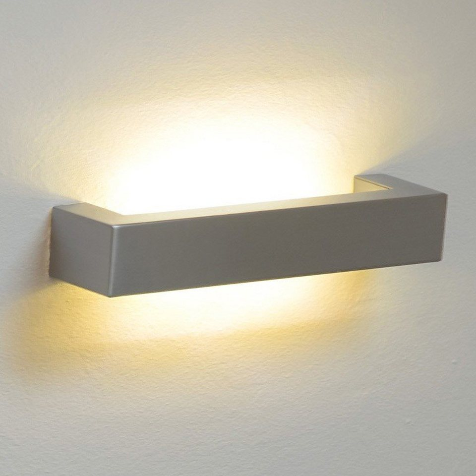 s.LUCE Wandlampe »Riser 65 cm Up & Down« in Silber