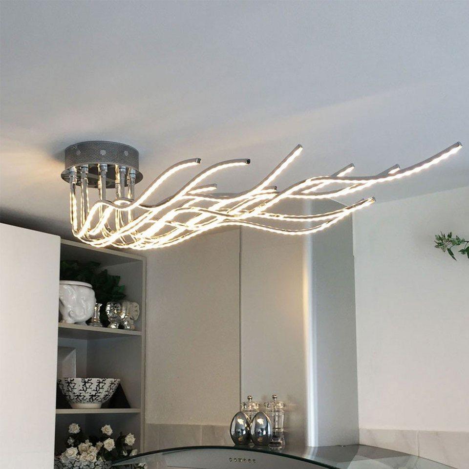 Licht-Trend Deckenleuchte »Sculli LED-Deckenleuchte mit Metallarmen« in Silber