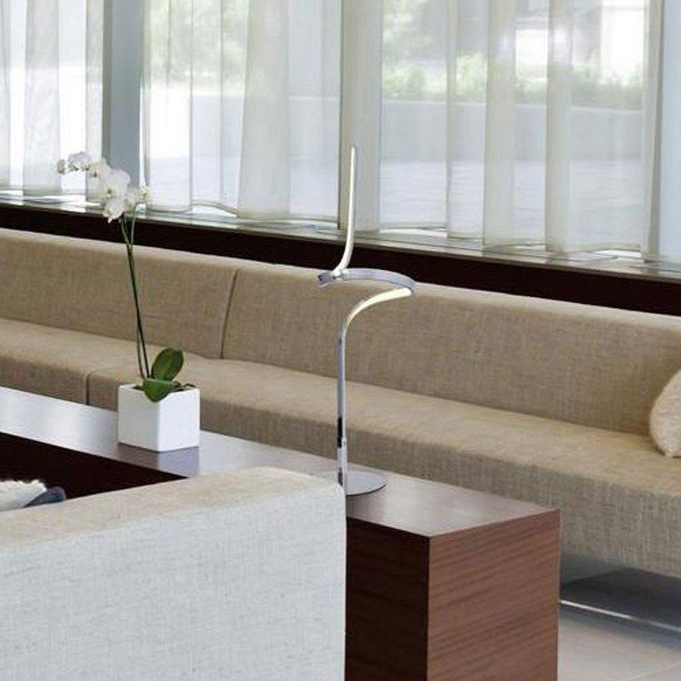 Licht-Trend Tischleuchte »Spirito LED-Tischleuchte geschwungen 63 cm« in Silber