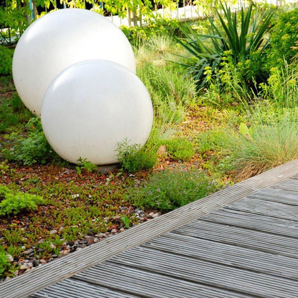 s.LUCE Gartenkugel »Globe Ø 50 cm« in Weiß