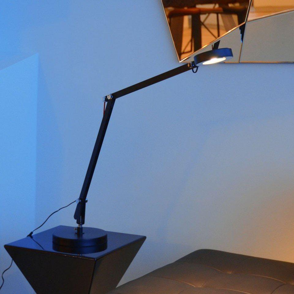 Licht-Trend Tischleuchte »Certain LED Tischleuchte Metall in Schwarz« in Schwarz