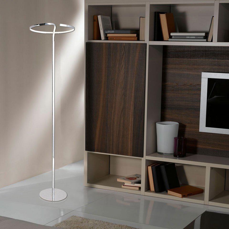 Licht-Trend Stehleuchte »Spirito LED-Stehleuchte geschwungen 166 cm« in Silber