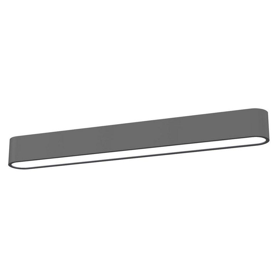 Licht-Trend Deckenleuchte »Talu Deckenleuchte 60 cm in Anthrazit« in Schwarz