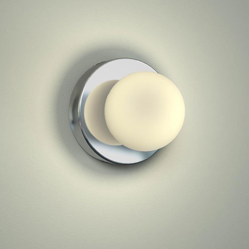 Licht-Trend Wandleuchte »Azos Spiegel Wandleuchte Ø 10 cm IP44«