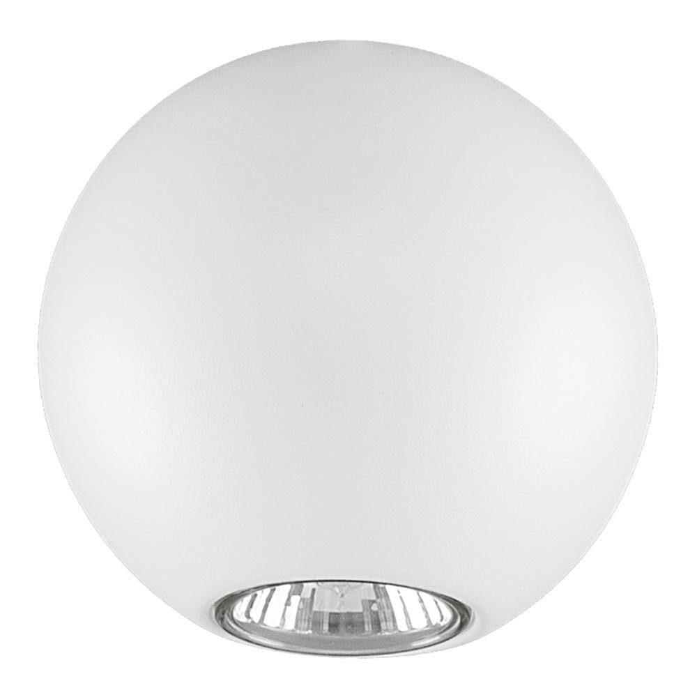 Licht-Trend Deckenleuchte »Bubb Kugel Deckenleuchte Ø 12 cm in Weiss«