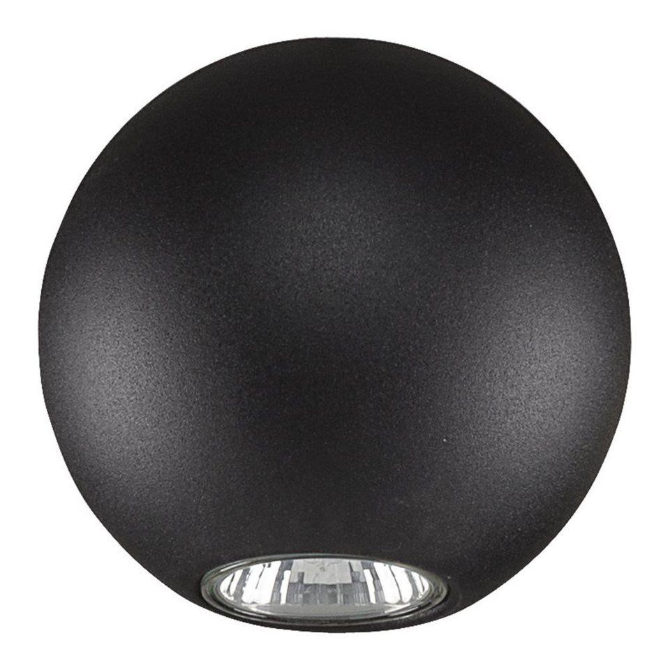 Licht-Trend Deckenleuchte »Bubb Deckenleuchte in Kugelform Ø 12 cm in Schwarz« in Schwarz