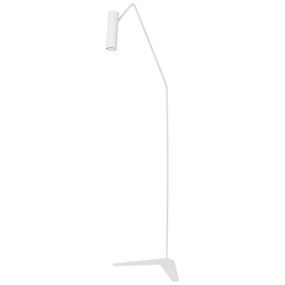 Licht-Trend Stehleuchte »Eyes Stehleuchte mit verstellbarem Spot 160 cm in« in Weiß