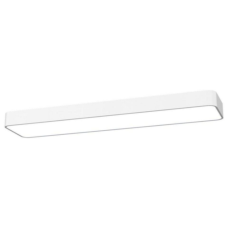 Licht-Trend Deckenleuchte »Talu Deckenleuchte 90 x 20 cm in Weiss« in Weiß