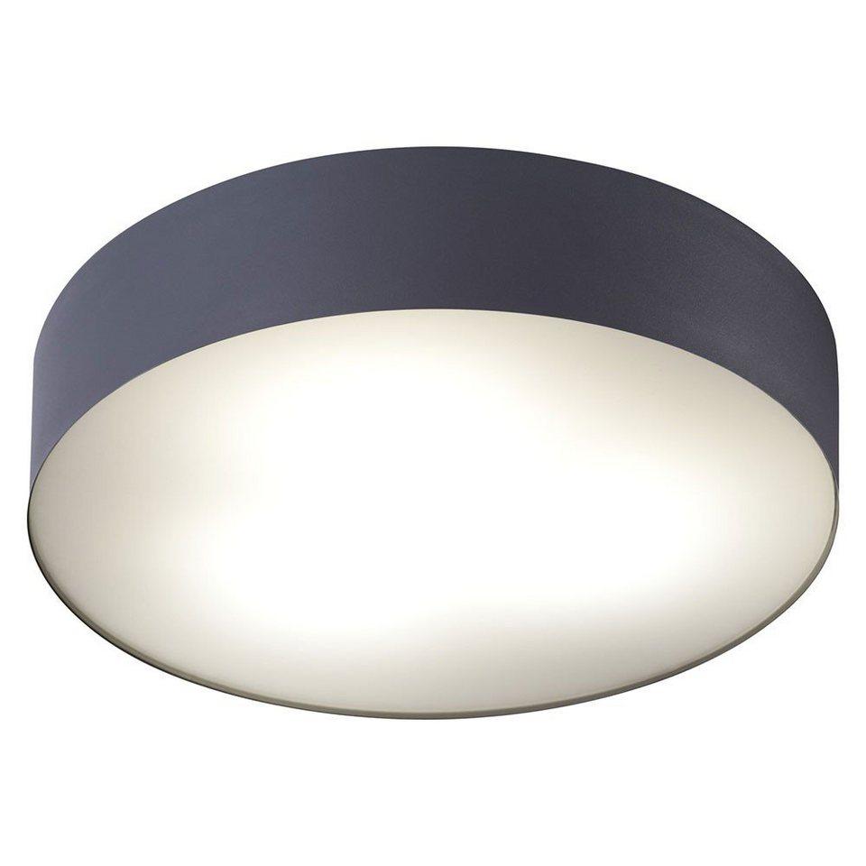 Licht-Trend Deckenleuchte »Talu Deckenleuchte Ø 40 cm in Anthrazit« in Schwarz