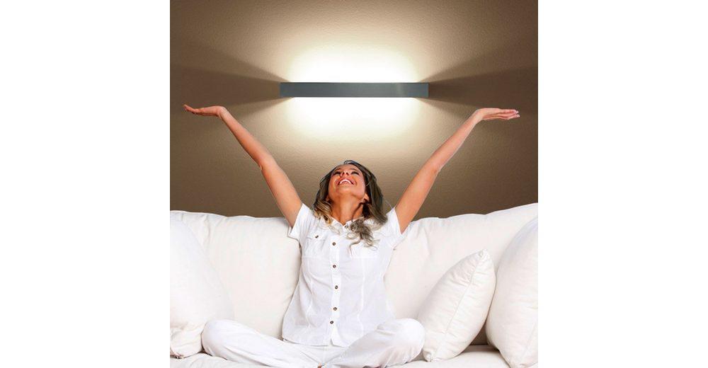 s.LUCE Wandlampe »Riser 95 cm Up & Down«