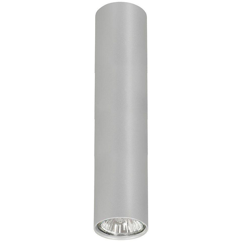 Licht-Trend Deckenleuchte »Eye M Deckenleuchte 24 cm in Silber« in Silber