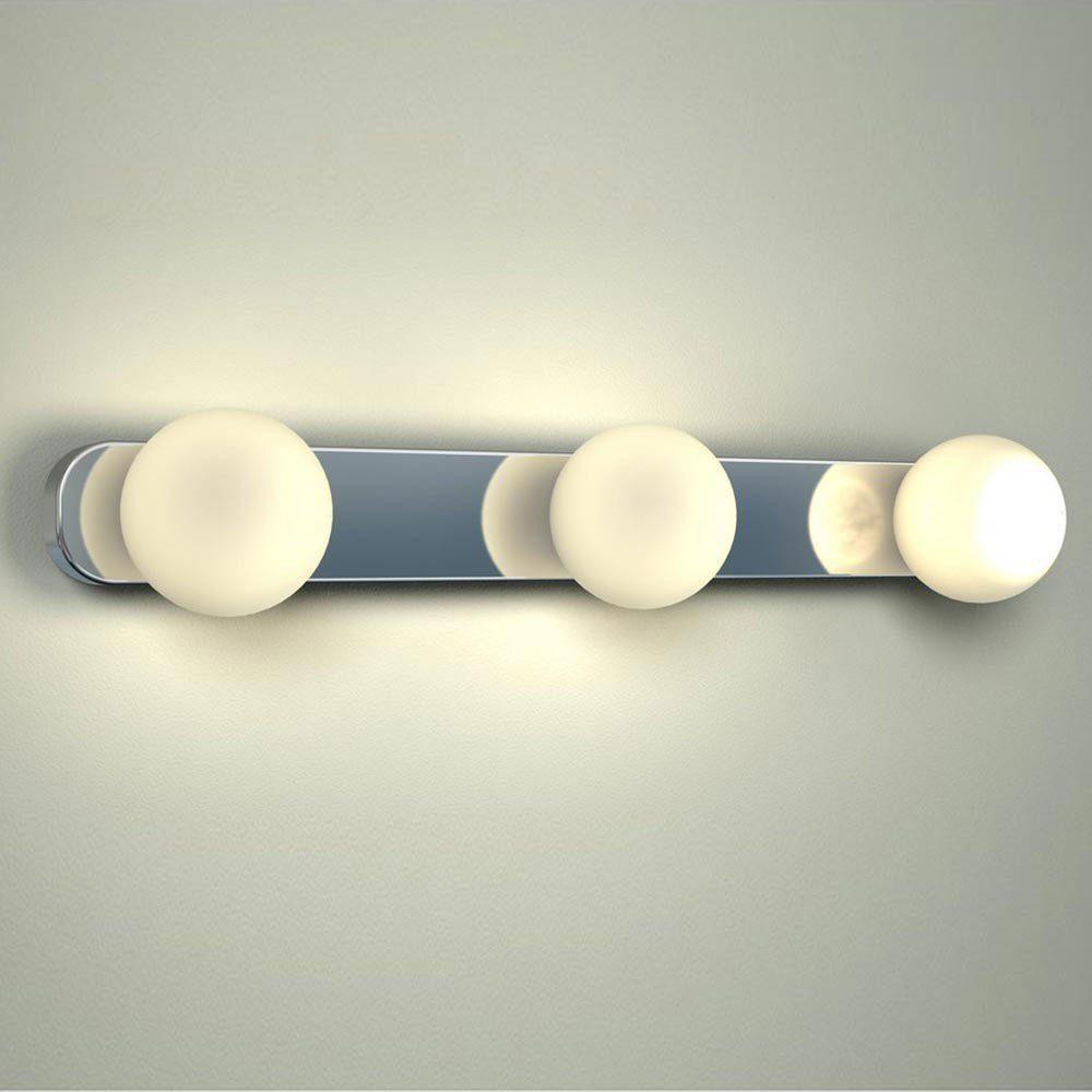 Licht-Trend Wandleuchte »Azos / Spiegel Wandleuchte 44 cm IP44 / Chrom,«