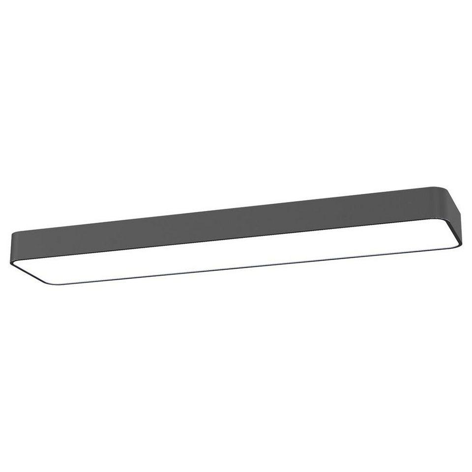 Licht-Trend Deckenleuchte »Talu Deckenleuchte 90 x 20 cm in Anthrazit« in Schwarz