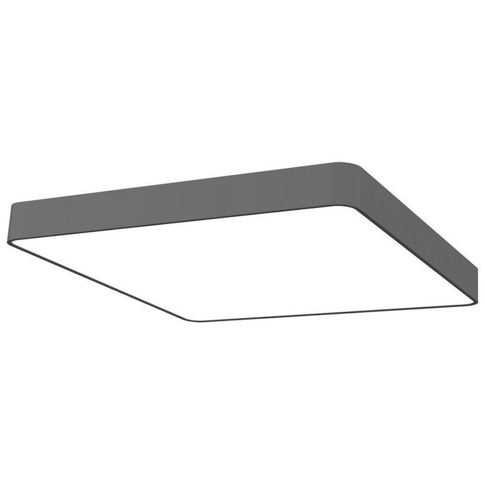 Licht-Trend Deckenleuchte »Talu Deckenleuchte 60 x 60 cm in Anthrazit« in Schwarz