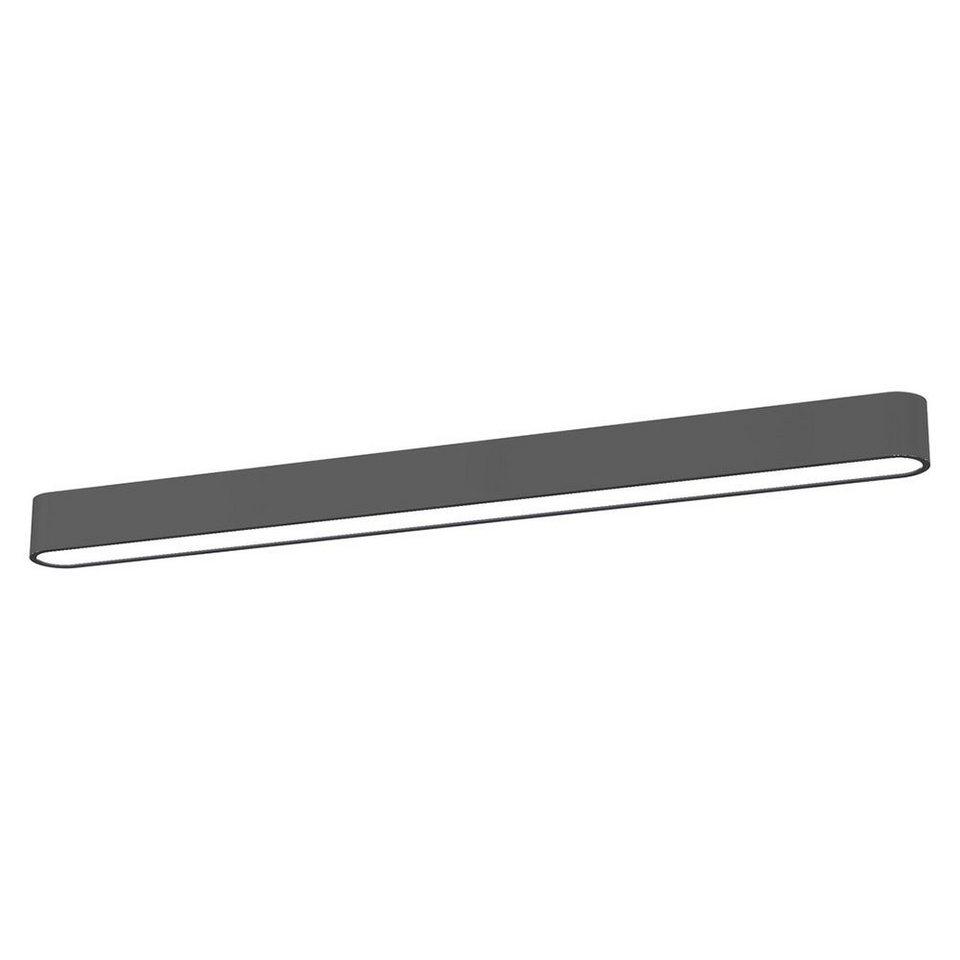 Licht-Trend Deckenleuchte »Talu Deckenleuchte 90 cm in Anthrazit« in Schwarz