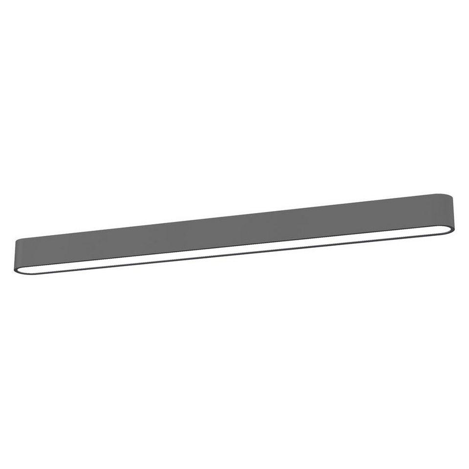 Licht-Trend Deckenleuchte »Talu Deckenleuchte 120 cm in Anthrazit« in Schwarz