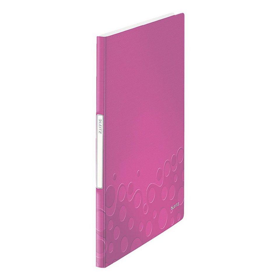 Leitz Präsentations-Sichtbuch »WOW« in pink metallic